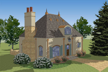 Petit Bijou French Country House Plan